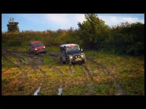fiat panda review top gear fiat panda 4x4 vs range rover fifth gear doovi