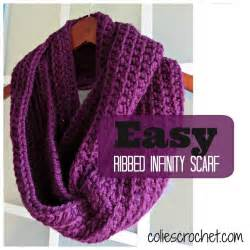 Easy Crochet Infinity Scarf Craftdrawer Crafts 30 Minute Infinity Scarves Patterns To