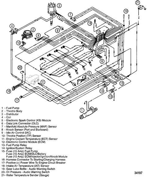 350 mercruiser magnum wiring diagram 350 get free image