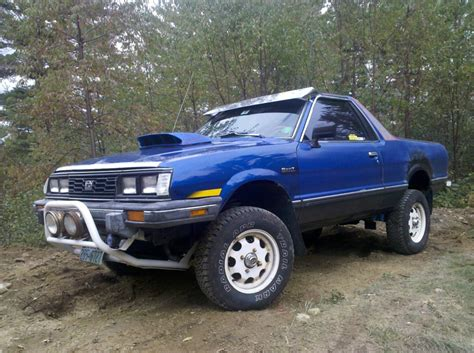 brat car lifted lifted subaru brat subaru brat picture thread keep