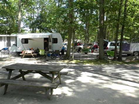 Cape May Cabins by Inside The Cabin Picture Of Seashore Csites Rv Resort Cape May Tripadvisor