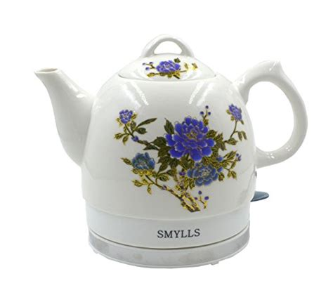 flower pattern kettles smylls electric ceramic kettle boiling water pot coffee