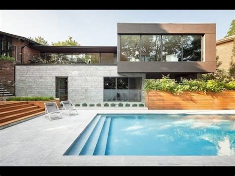 beautiful adabdcbffcadf for modern pool house 6550 prince philip residence modern house design overlooking