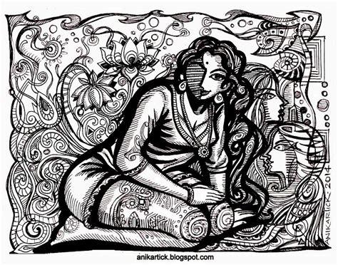 chennai animation artist anikartick sketches chennai