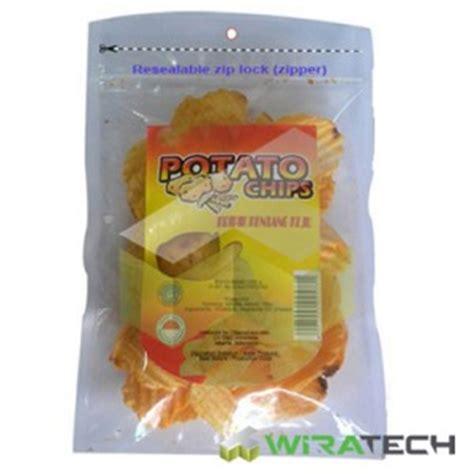 Kemasan Standing Pouch Pp Klip 20 X 29 Cm plastik kemasan plastik vakum sealer kemasan makanan