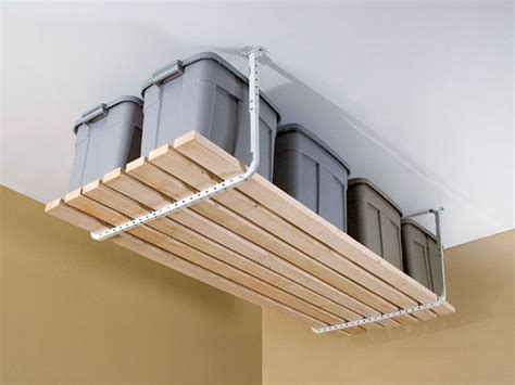 37 best ceiling overhead storage ideas images on pinterest