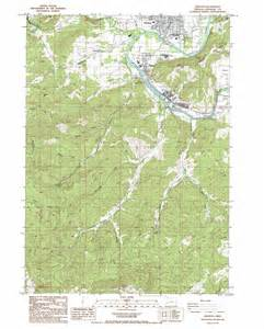 winston oregon map winston topographic map or usgs topo 43123a4