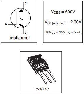 transistor g4pc50w datasheet g4pc50w datasheet g4pc50w pdf pinouts circuit international rectifier