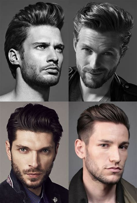 different types of mens quiffs 9 classic men s hairstyles that will never go out of