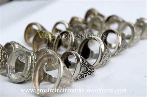 Kalung Pria Wanita Aksesoris Cowok Cewek Ring 12 gagah dengan cincin germanium grosir cincin murah