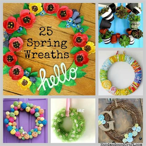 Images Of Handmade Crafts - 25 wreaths diy decor
