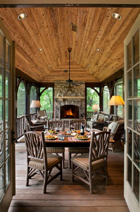 Enclosed Porch Enclosed Porches On Enclosed Porch Decorating