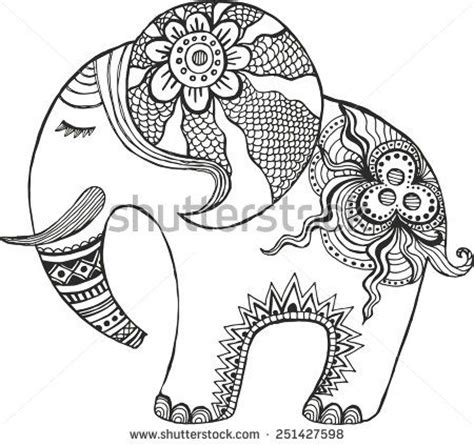 zen coloring pages elephant pinterest the world s catalog of ideas