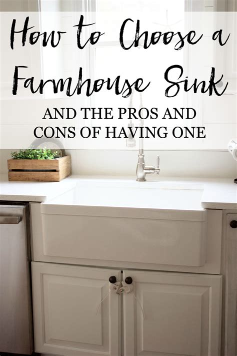 fireclay sinks pros and cons home how to choose a farmhouse lauren mcbride