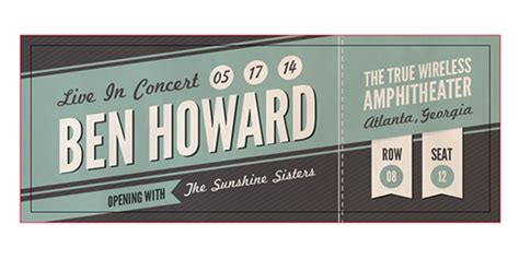 illustrator ticket template how to create a custom concert ticket in adobe illustrator