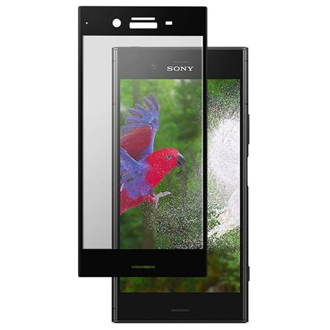 Blacklist Tempered Glass Covered Sony Experia Xz sony xperia xz1 roxfit cover tempered glass black