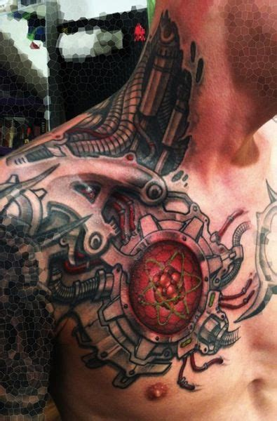biomechanical to geometric tattoo google search tattoo