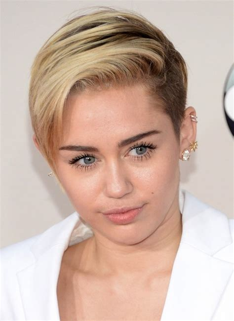 picturs of miley cyrus pink haircut front back and sides 30 miley cyrus hairstyles pretty designs