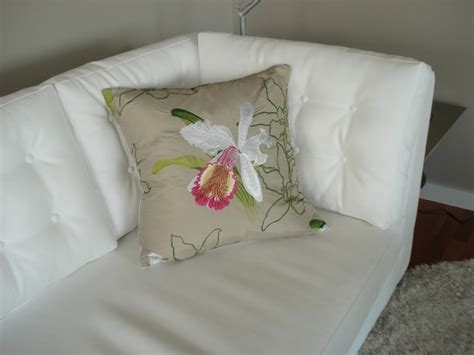modern decorative pillows for sofa white leather sofa with custom orchid cushion modern