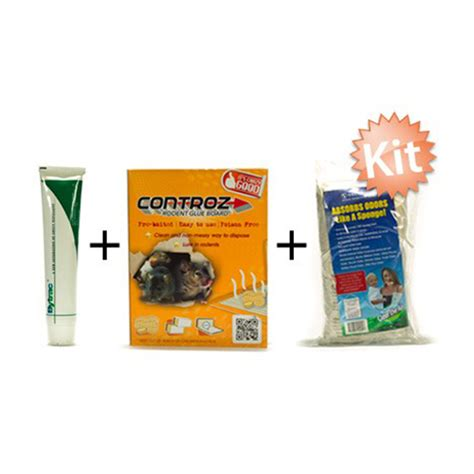 Controz Rodent Glue Board rodent kit best pest singapore