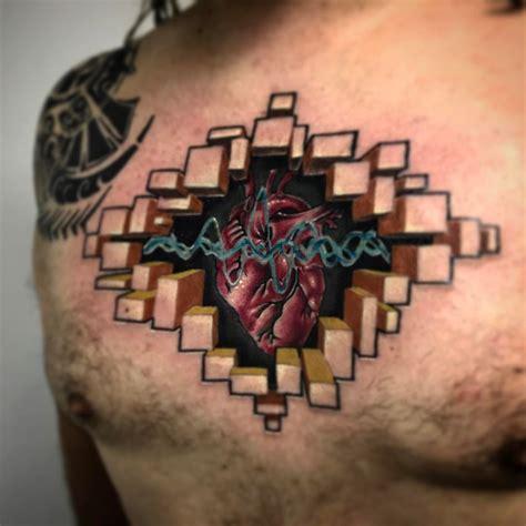 tattoo open chest brilliant 3d open chest tattoo design segerios com