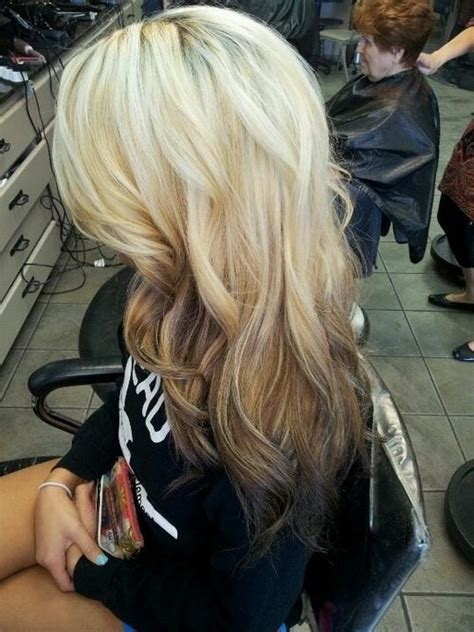 reverse ombre curls short hairstyle 2013 reverse ombre long hairstyles how to