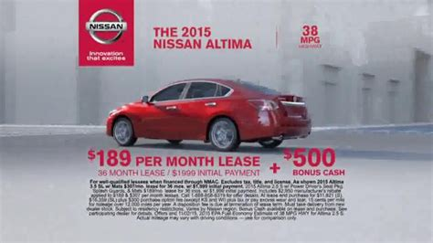 2016 nissan altima commercial song girl and guy in nissan altima commercial
