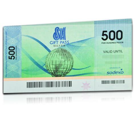 Sodexo Gift Card - sodexo gift certificate sm gift pass