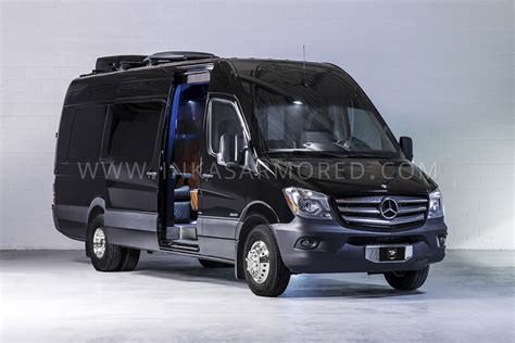 Limousine Vehicle by Mercedes Sprinter Armored Limousine For Sale Inkas