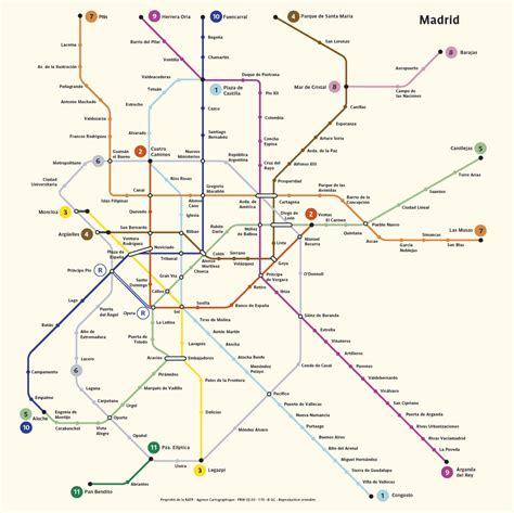 madrid metro map metro map of madrid metro maps of spain planetolog