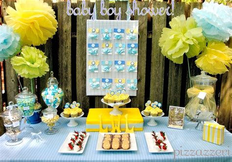 colors for baby shower pale blue yellow baby shower guest feature