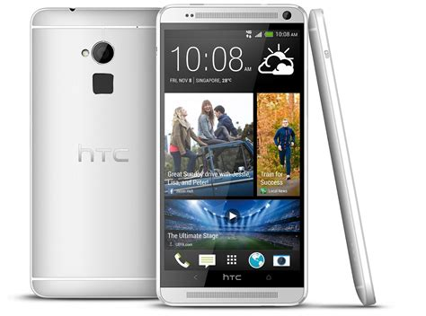 Htc One Max White A Supersized Htc One Max Gadgetreactor