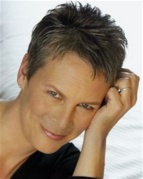 jamie lee curtis s short straight brown hair in mature 1000 images about hairstyles on pinterest short