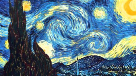 wordlesstech starry night by vincent van gogh parallax artwork vincent van gogh starry night youtube