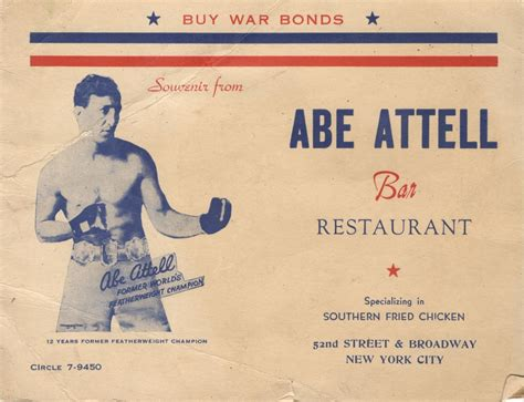 the fighting times of abe attell books usabn website abe attell bar and restaurant cover the