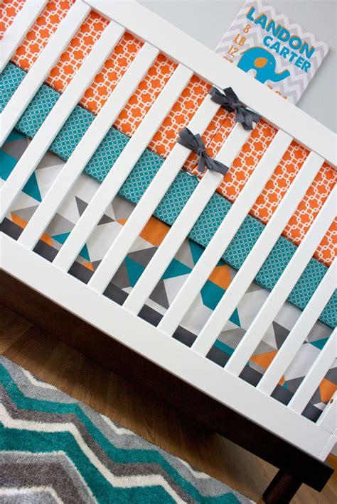 9 Best Nursery Themes Turquoise And Orange Nursery Turquoise And Orange Crib Bedding