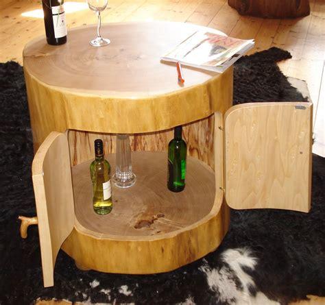 Holzstamm Als Tisch by Baumstamm Fass Baumscheiben Tisch Oder Baumstamm Tisch