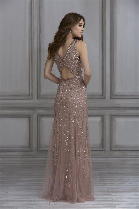 adrianna papell platinum bridesmaid dress style