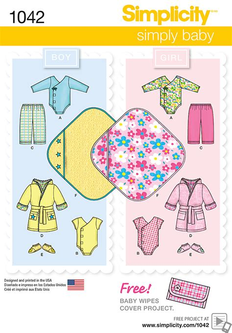 pattern review best patterns 2015 simplicity 1042 babies layette