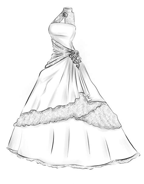 Drawing Dresses by Dress Designs Drawings Search Designs