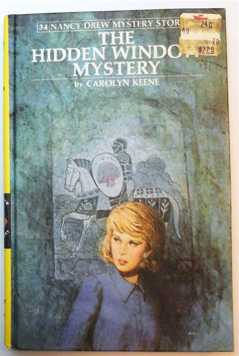 Drews A Cover by Nancy Drew 34 The Window Mystery Picture Cover