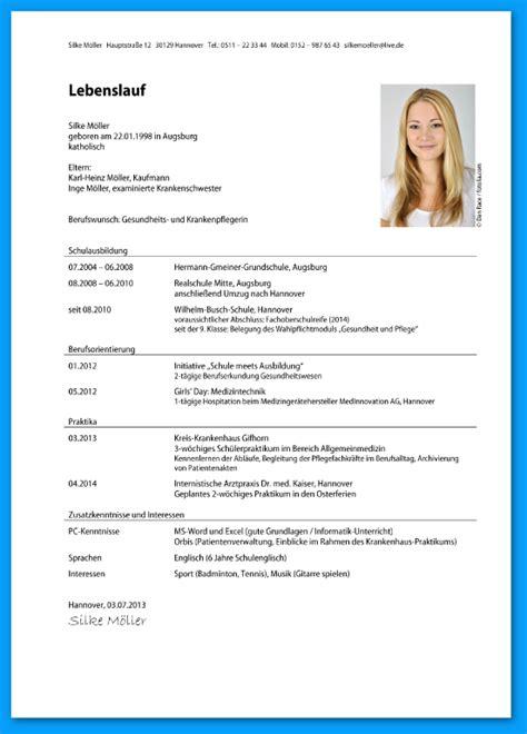 Lebenslauf Muster Hochschule 9 Lebenslauf Sch 252 Lerpraktikum Rechnungsvorlage