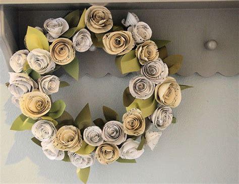 rosas de papel peridico flores hechas de papel de periodico imagui