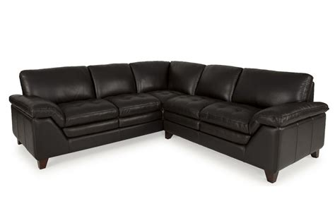 2 piece leather sectional brazil leather 2 piece sectional