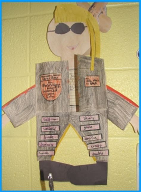 cool book reports character book report projects templates printable