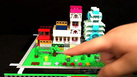 lego ghost tutorial tuesday youtube lego micropolis scale landscaping smaller plants paths