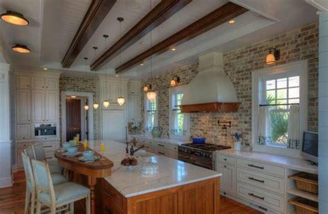 modern kitchen decor with brick walls 25 interior decorating ideas