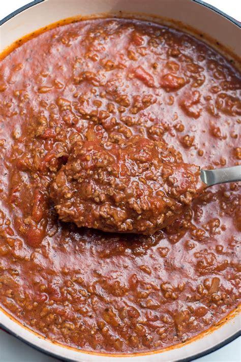 easy pasta sauce easy homemade spaghetti sauce valerie s kitchen