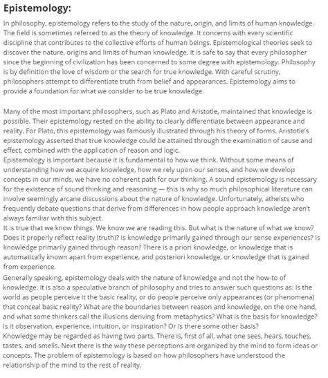 Epistemology Essay by Epistemology Essay Epistemology Essay Fit Essay Fit Essay Sles Dies Ip Fit Essay Epistemology