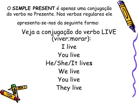 simple present verbal pattern simple present x present continuous